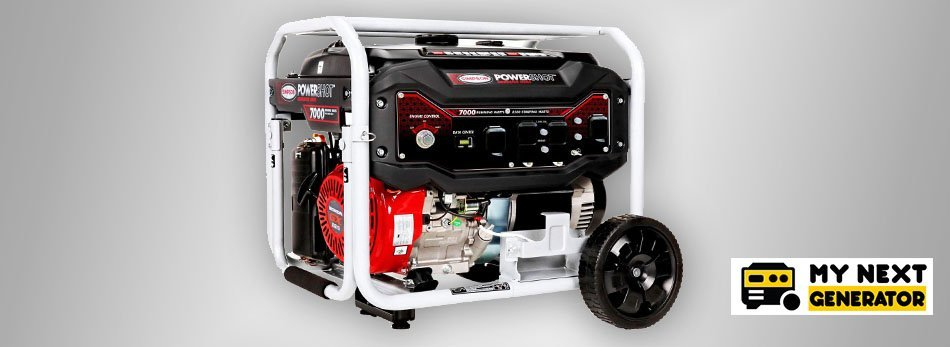 SIMPSON Cleaning SPG7085E Portable Gas Generator
